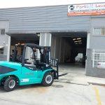 CARRETILLA ELEVADORA DIESEL MAXIMAL 5000 KG